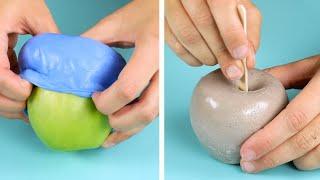 Wenn du DAS mit einem Apfel machst, kriegst du saubere Hände