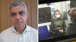 Sadiq Khan calls for face masks to be worn on public transport amid coronavirus outbreak