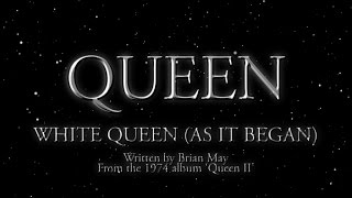 Queen - White Queen (As It Began) (Official Lyric Video) thumbnail