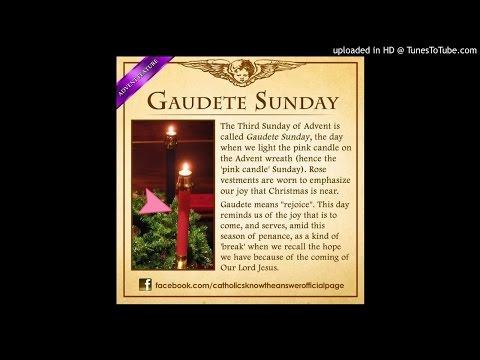 SOS ( Series of Sermons ) Gaudete Sunday by Fr. Sretenovic