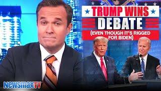 Trump won that RIGGED debate | Greg Kelly