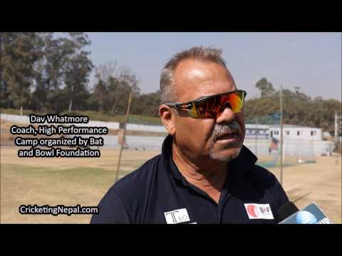 Dav Whatmore speaks on his first day with National cricket team