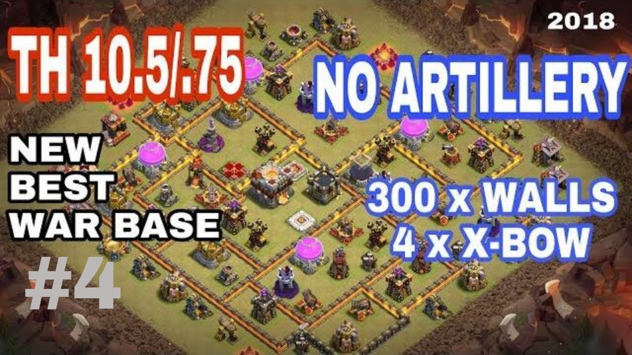 Best Th11 War Base Without Eagle Artillery 2018 3