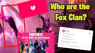Fox Clan Explained! What is FOX CLAN? #Alia  #Fortnite #FoxClan #Storyline