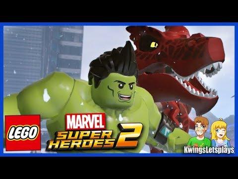 LEGO Marvel: Super Heroes 2 DLC Champions Pack (Season Pass) - YouTube
