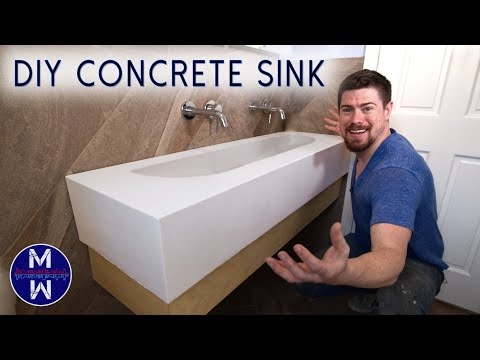 diy-concrete-sink-&-countertop-ll-small-bathroom-renovation