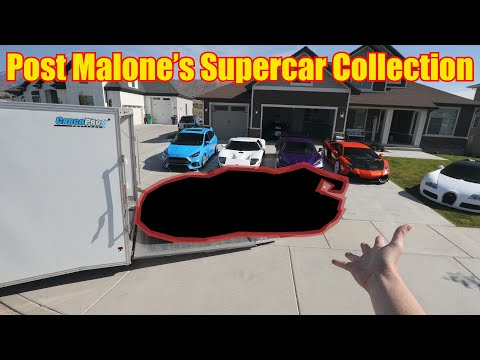 Post Malone's $1.7M Hypercar DELIVERED to my House!