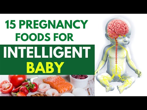 15 Foods to Improve Baby's Brain  During Pregnancy – Pregnancy Foods for Intelligent Baby