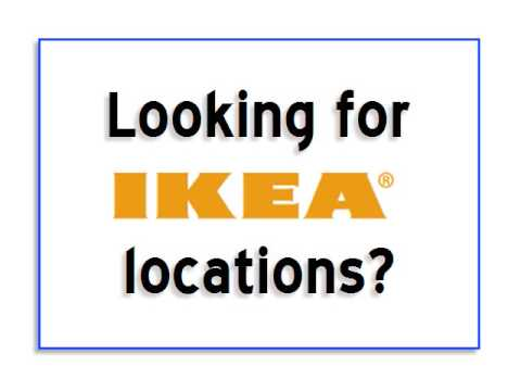 ikea locations find ikea locations quickly without getting lost on their site youtube. Black Bedroom Furniture Sets. Home Design Ideas