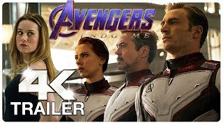 AVENGERS 4 ENDGAME Final Trailer (4K ULTRA HD) NEW 2019