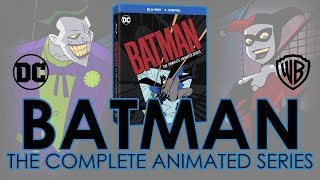 Batman: The Animated Series Blu-ray Collection Unboxing (4K Video) DC Comics