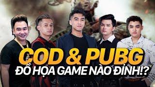 khẩu chiến streamer  độ mixi vs pewpew | phần 1 : đồ họa game pubg vs cod