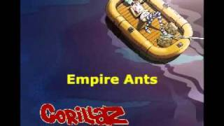 Gorillaz - Empire Ants (Live on Letterman)