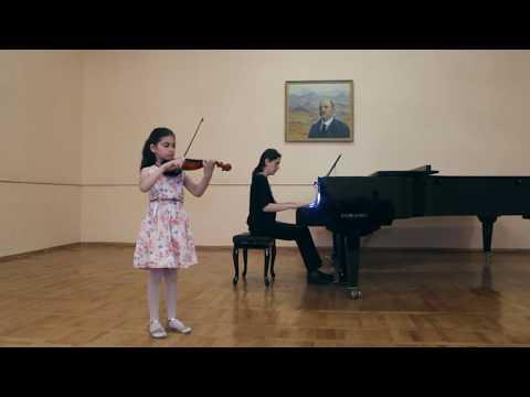 Мане Мхитарян (8 лет) - О.Ридинг