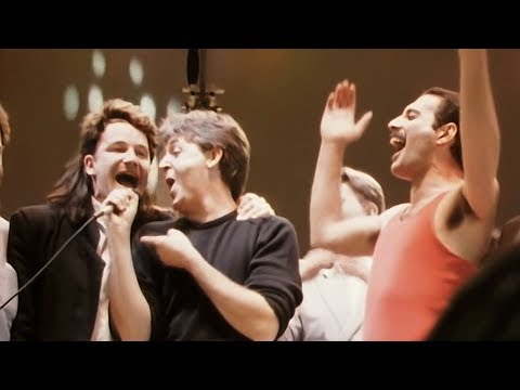 Live Aid 1985 - Do They Know It's Christmas (Film Camera Source)