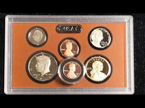 2019 U.S. Mint Proof Set With Special Edition Proof Lincoln Penny Struck At West Point Mint