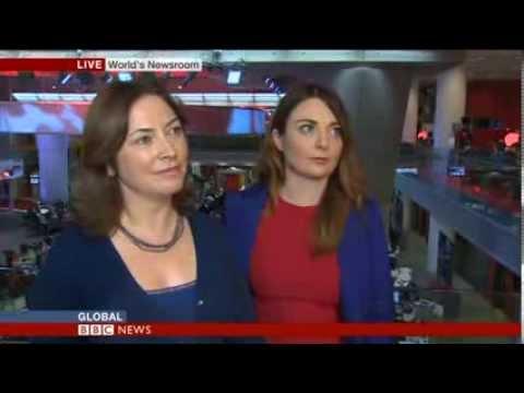 SEARCHING FOR TYPHOON SURVIVORS- Samantha Barry BBC World News