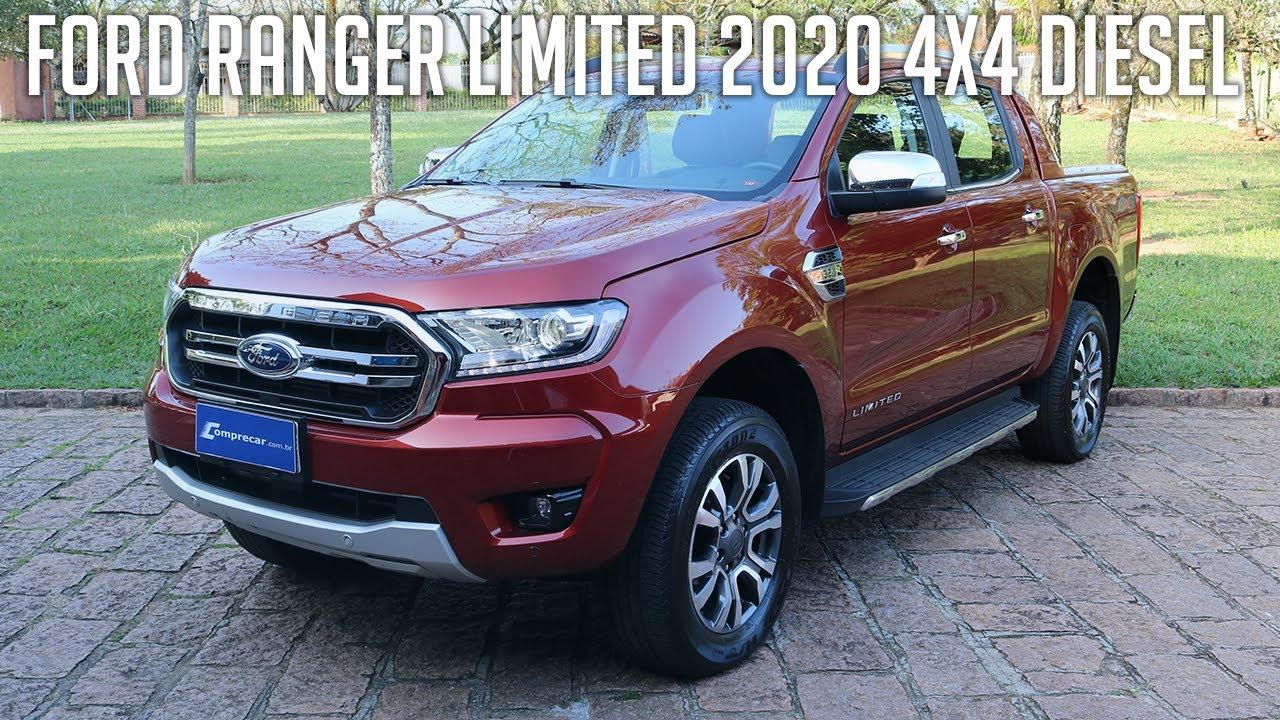 avalia u00e7 u00e3o  ford ranger limited 2020 4x4 diesel
