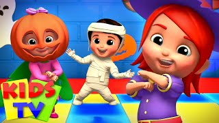 Monster Dance Party Challenge | Halloween Party Songs | Scary Cartoon | Halloween Music - Kids Tv