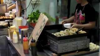 Hong Kong. Chinese Fast Food And Street Food In Kowloon. Dai Pai Dong