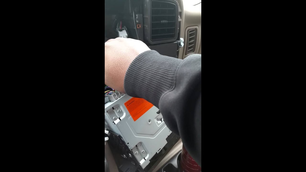 radio replacement interface for a 2005 chevy tahoe z71 with bose [ 1280 x 720 Pixel ]