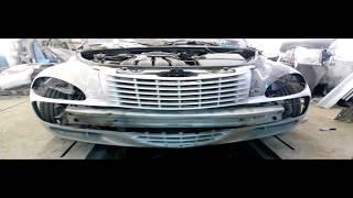 Chrysler PT Cruiser тюнинг решётки, Начало, поэтапно. как сделать бампер передний и задний