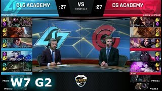 Video CLG Academy vs Clutch Gaming Academy | Week 7 NA Academy League Summer 2018 | CLGA vs CGA download MP3, 3GP, MP4, WEBM, AVI, FLV Agustus 2018
