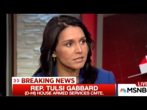 "Congresswoman Tulsi Gabbard Explains Why ""We Have To Stop Spending TRILLIONS On Regime Change Wars!"""