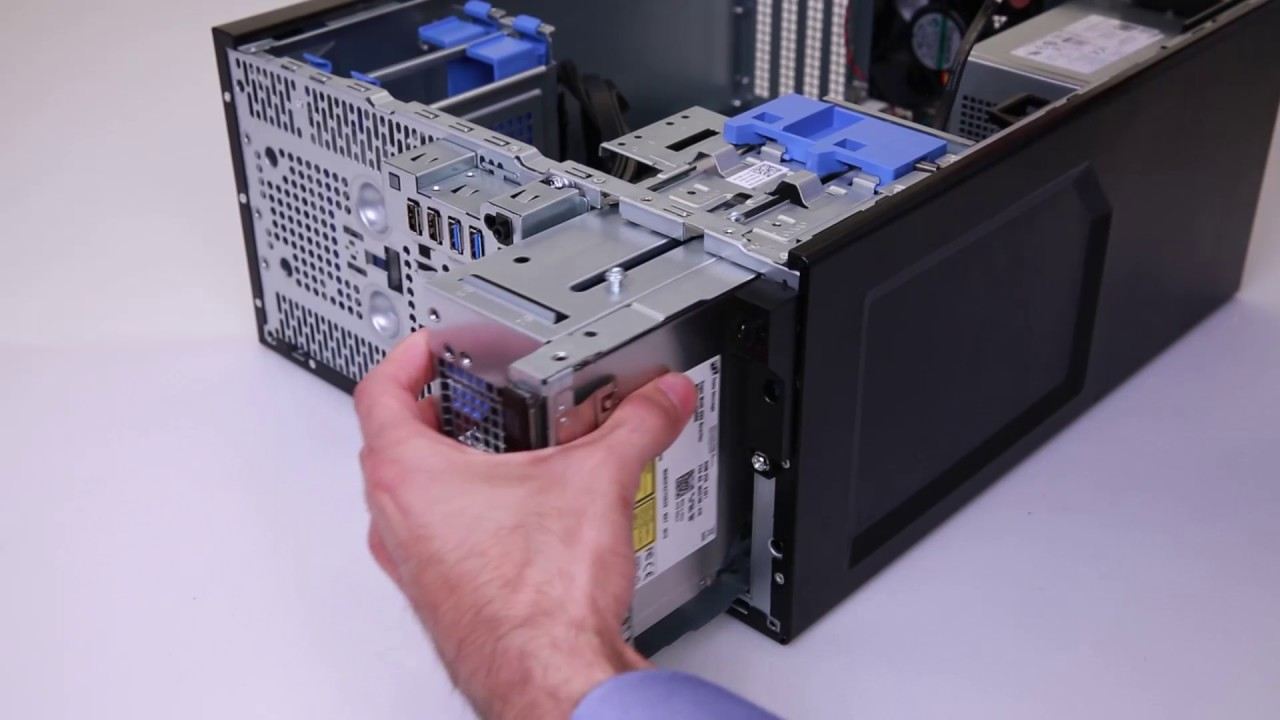 Dell PowerEdge T30: Install Optical Drive by Dell Quick Resource Locator