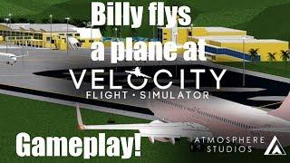 Roblox Gameplay: Velocity Flight Simulator