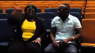 (Deyoungs Burners) Obaa Tiwah & Young Cissey promoting daddy lumba's show legends night 7 j