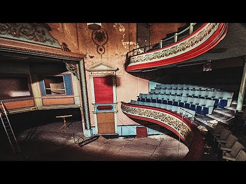 Exploring This Incredible ABANDONED English Theatre
