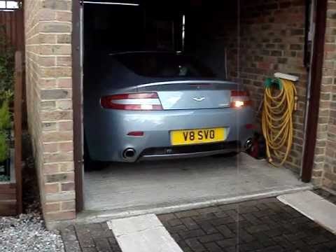 Aston Martin V8 Vantage Cold Start Burble And Popping Without Fuse 22