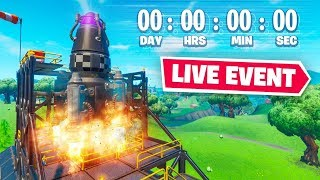 THE END OF Fortnite Chapter 1! LIVE EVENT