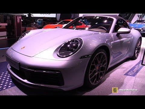 2020 Porsche 911 Carrera S Convertible - Exterior and Interior Walkaround - 2019 Geneva Motor Show