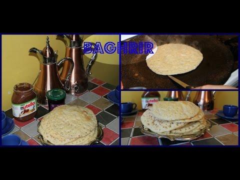 recette-baghrir-(crèpes-arabe)