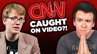 """CNN """"Exposed"""" In Controversial Secret Video and Anita Sarkeesian"""