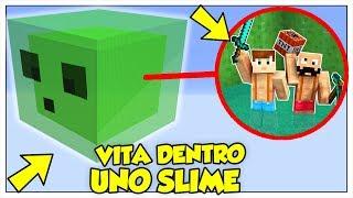 SI PUÒ SOPRAVVIVERE IN UN CUBO DI SLIME? - Minecraft ITA
