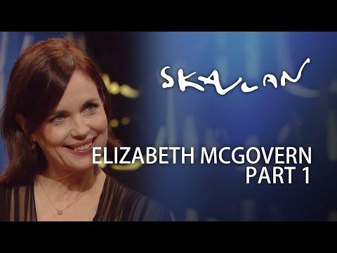 Elizabeth McGovern   Part 1  Skavlan