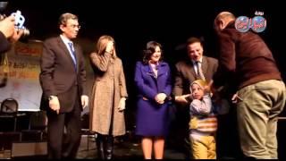 ياسر رزق وجمال حسين يقدمان جوائز المسابقة الدينية لجريدة الأخبار المسائية 2015