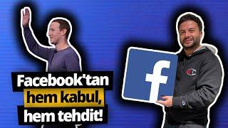 Facebook, Türkiye'ye 'tehditle' geliyor!