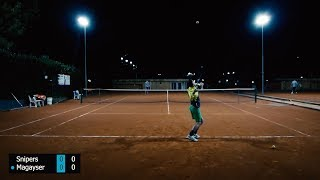 Amateur Tennis Match Highlights - Snipers vs Magayser
