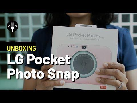 UNBOXING: LG POCKET PHOTO SNAP