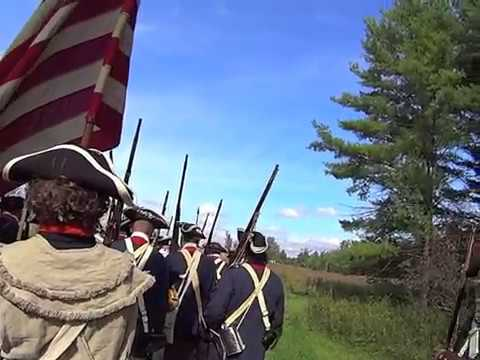 War POV Saratoga Battle Reenactment