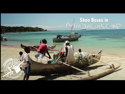 Operation Christmas Child Shoe Boxes in Madagascar