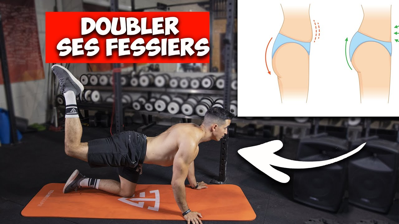 DOUBLER SES FESSIERS AVEC 4 EXERCICES (fesses rebondies)