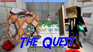The Quest - Maps Puzzle Keren Dari Command Block | Maps Showcase #4
