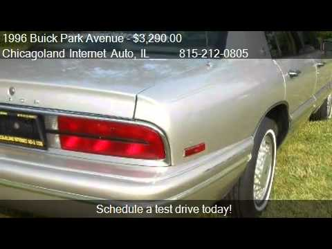 1996 buick park avenue sedan for sale in new lenox il. Black Bedroom Furniture Sets. Home Design Ideas