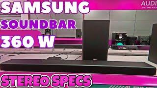 🔥SAMSUNG HW Q60T 5.1 Soundbar | 360W & Wireless Subwoofer | The Biggest Sound & Bass 2021 Full Specs