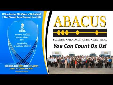 Abacus Plumbing, Air Conditioning & Electrical Wins Back to Back Pinnacle Awards From Houston BBB